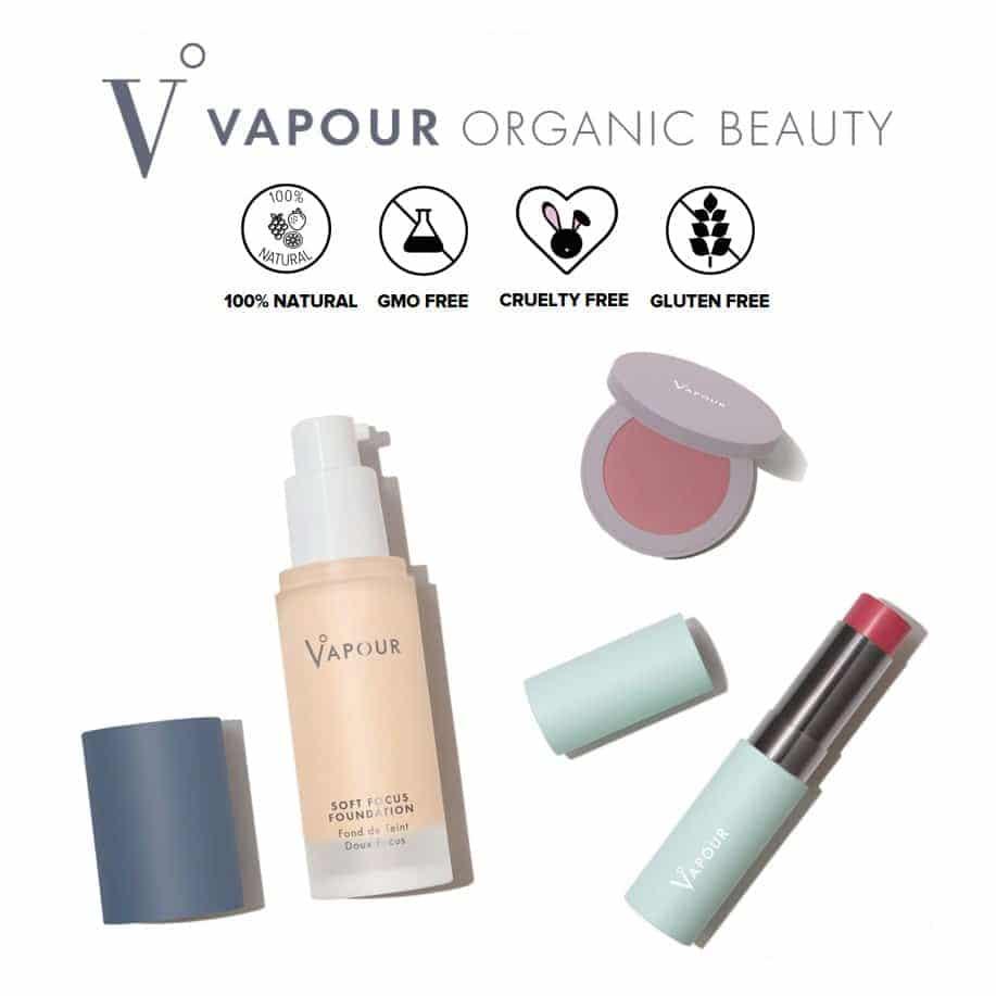 *VAPOUR ORGANIC BEAUTY – ORGANIC MAKEUP | $$$ |