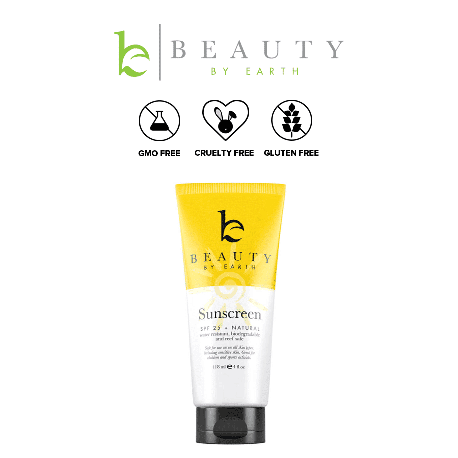 *BEAUTY BY EARTH – MINERAL BODY ORGANIC SUNSCREEN SPF 25 | $19.99 |