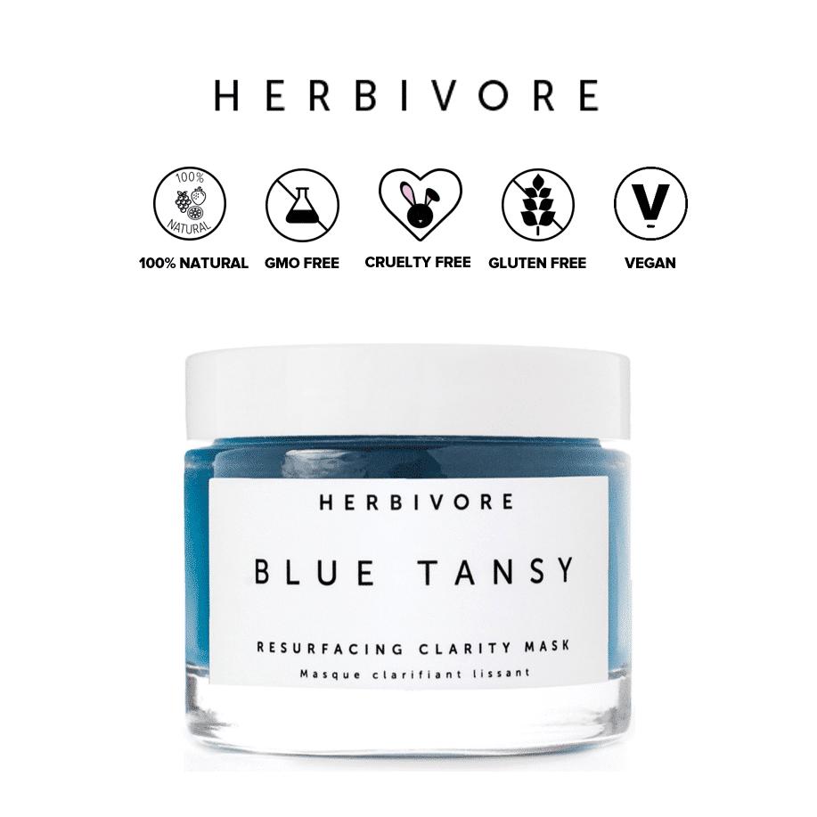 *HERBIVORE – BLUE TANSY RESURFACING CLARITY MASK | $48 |