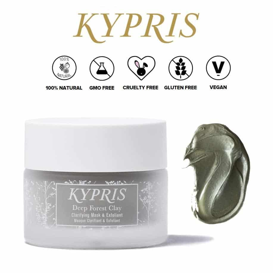 *KYPRIS – DEEP FOREST CLAY ORGANIC MASK | $105 |