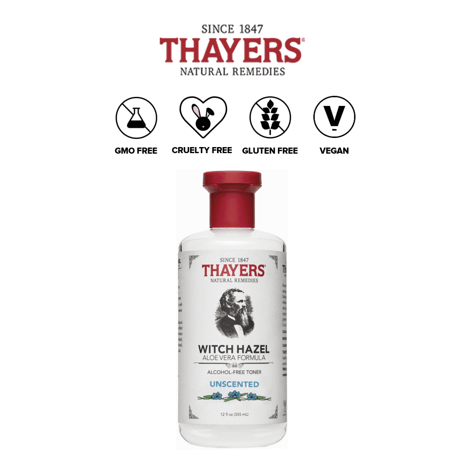 *THAYERS – ALCOHOL FREE WITCH HAZEL TONER UNSCENTED | $8.99 |