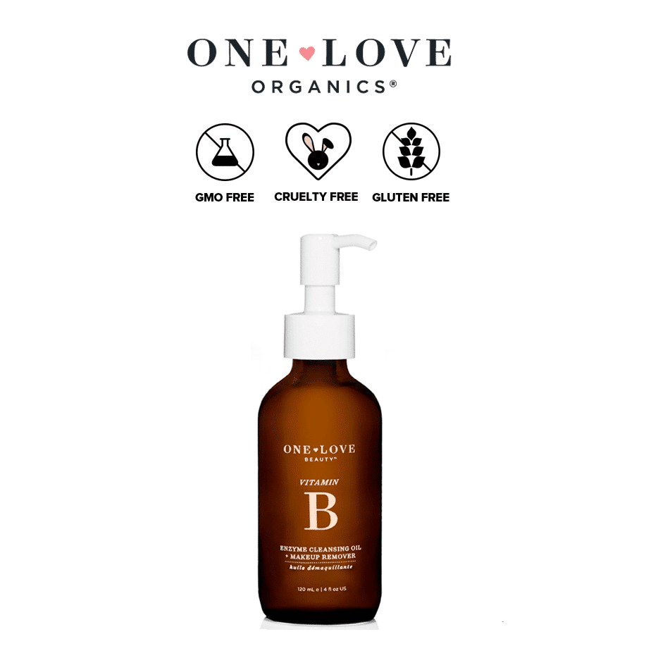 *ONE LOVE ORGANICS – VITAMIN B ENZYME CLEANSING OIL & MAKEUP REMOVER | $42 |