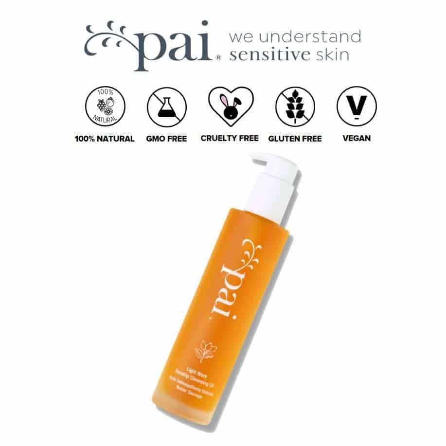 *PAI – LIGHT WORK ROSEHIP ORGANIC CLEANSING OIL + MAKEUP REMOVER | $56 |