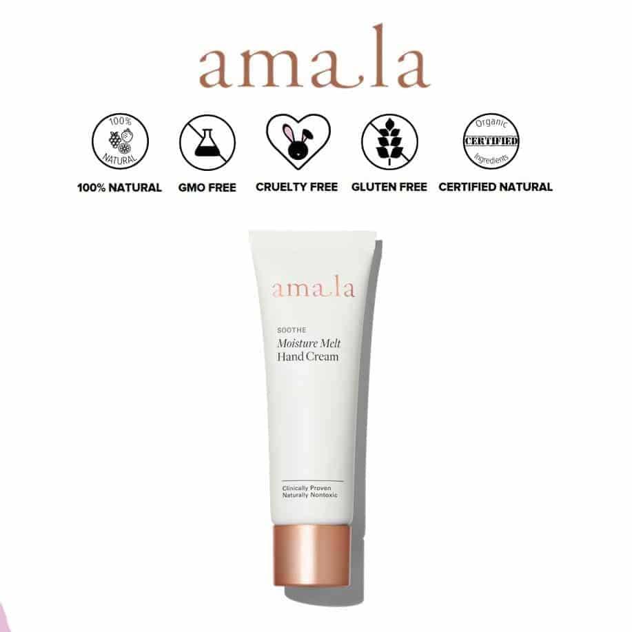 *AMALA – MOISTURE MELT ORGANIC ANTI-AGING HAND CREAM | $36 |