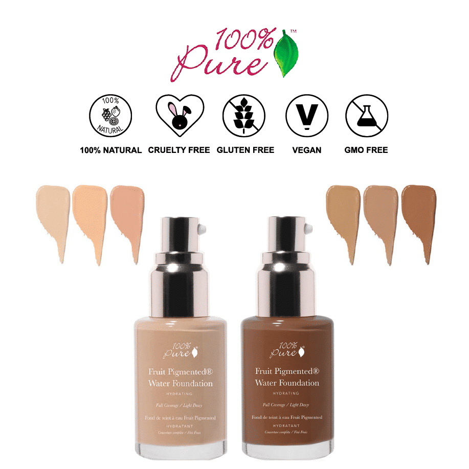 *100% PURE – FRUIT PIGMENTED ALL NATURAL WATER FOUNDATION | $41 |