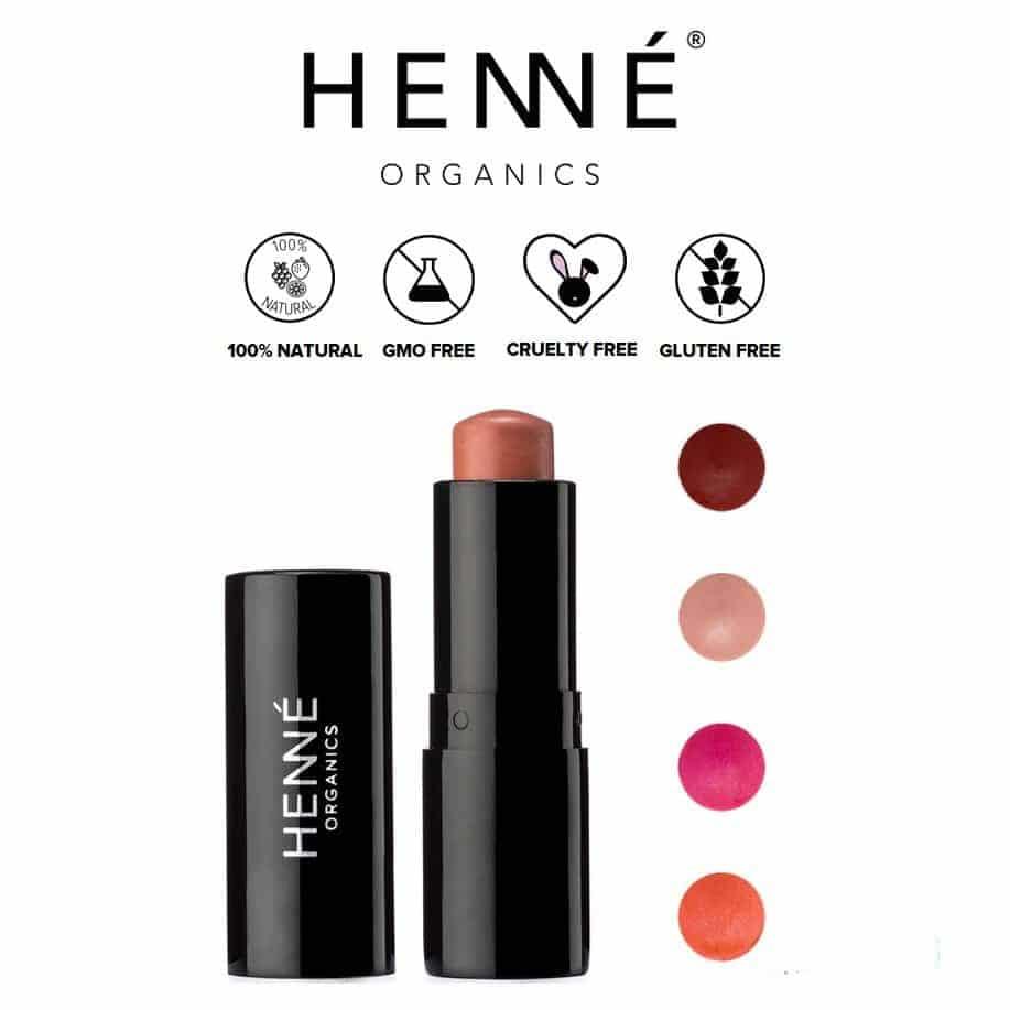 *HENNE ORGANICS – ORGANIC LUXURY LIP TINT   $21  