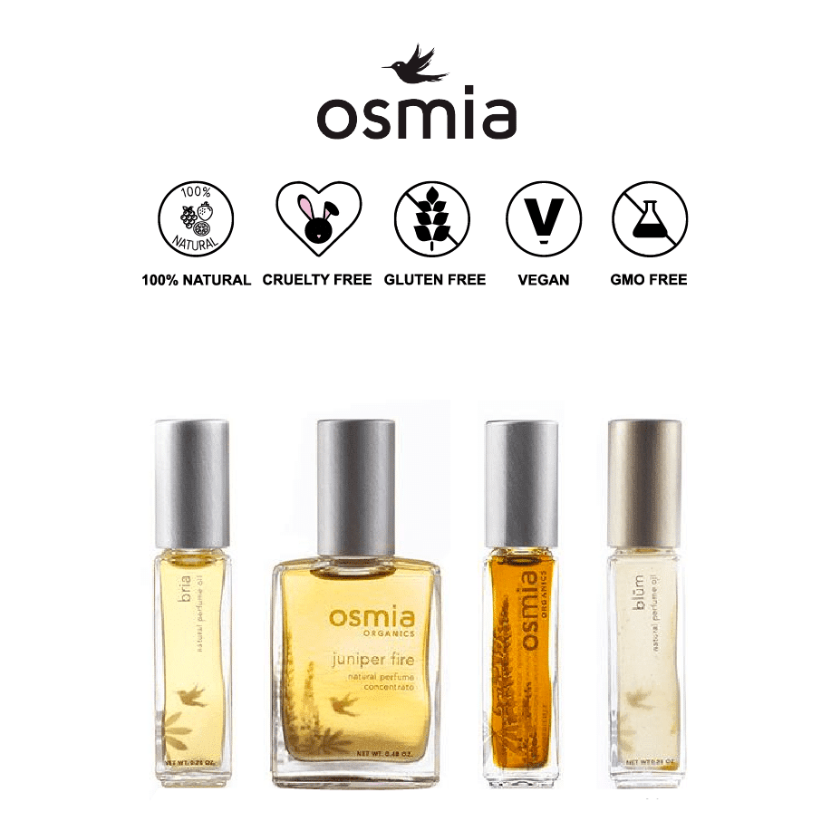 *OSMIA ORGANICS – ORGANIC PERFUMES | $75-150 |