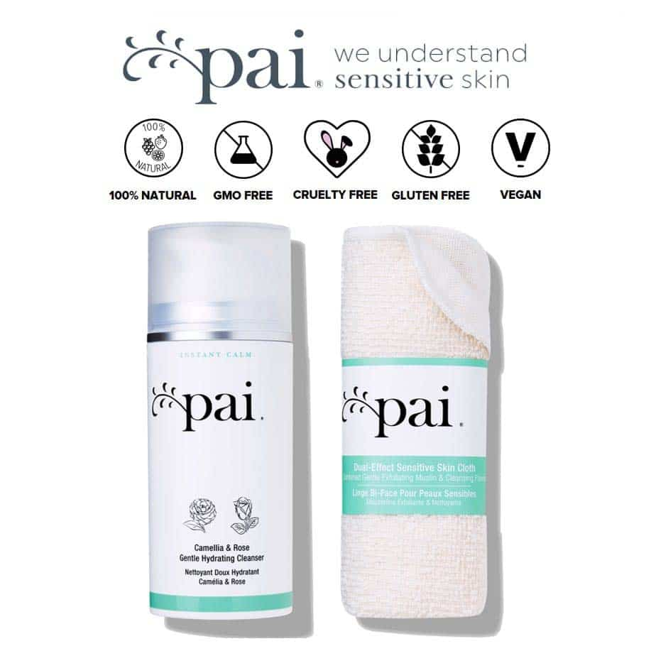 *PAI – CAMELLIA & ROSE GENTLE HYDRATING ORGANIC CLEANSER | $50 |