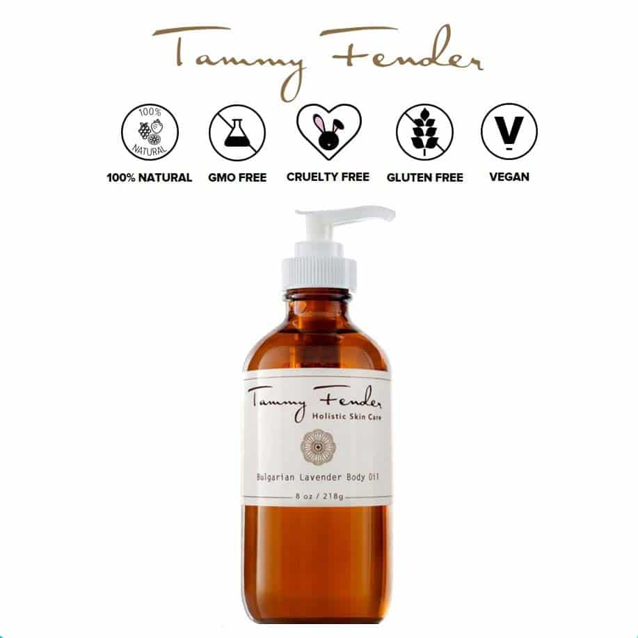 *TAMMY FENDER – ORGANIC BULGARIAN LAVENDER BODY OIL | $80 |