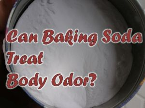 How to Control Body Odor with Baking Soda?