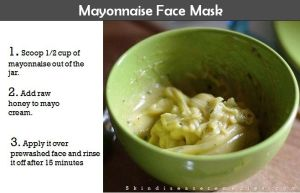 Mayonnaise Face Mask – Is It Good for Your Face