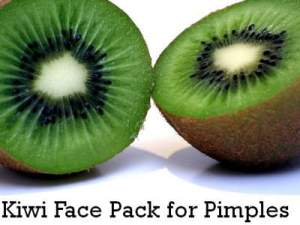 kiwi fruit face mask
