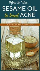 How to Use Sesame Oil for Acne and Acne Scars – 5 DIY Recipes