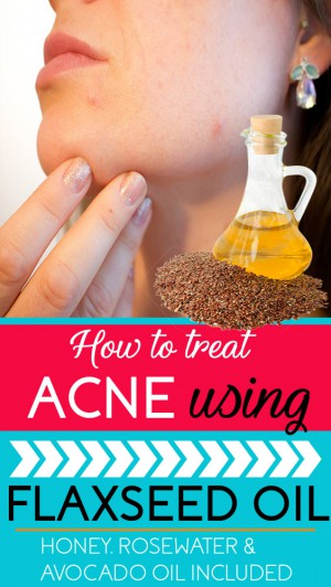 flaxseed oil for acne