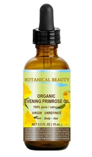 Organic evening primrose oil to help acne treatment