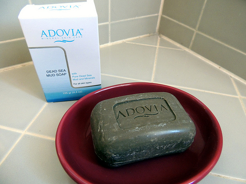 Skinned Knees Beauty Bees Adovia Dead Sea Soap