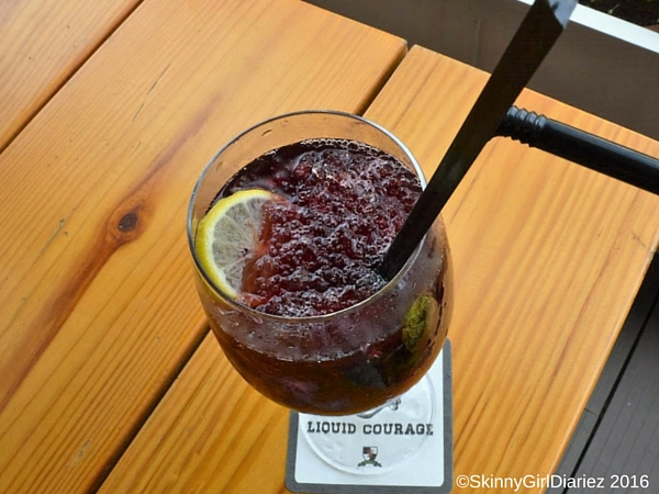 QUEEN'S PARK SWIZZLE @ The Whitefield Arms Pub