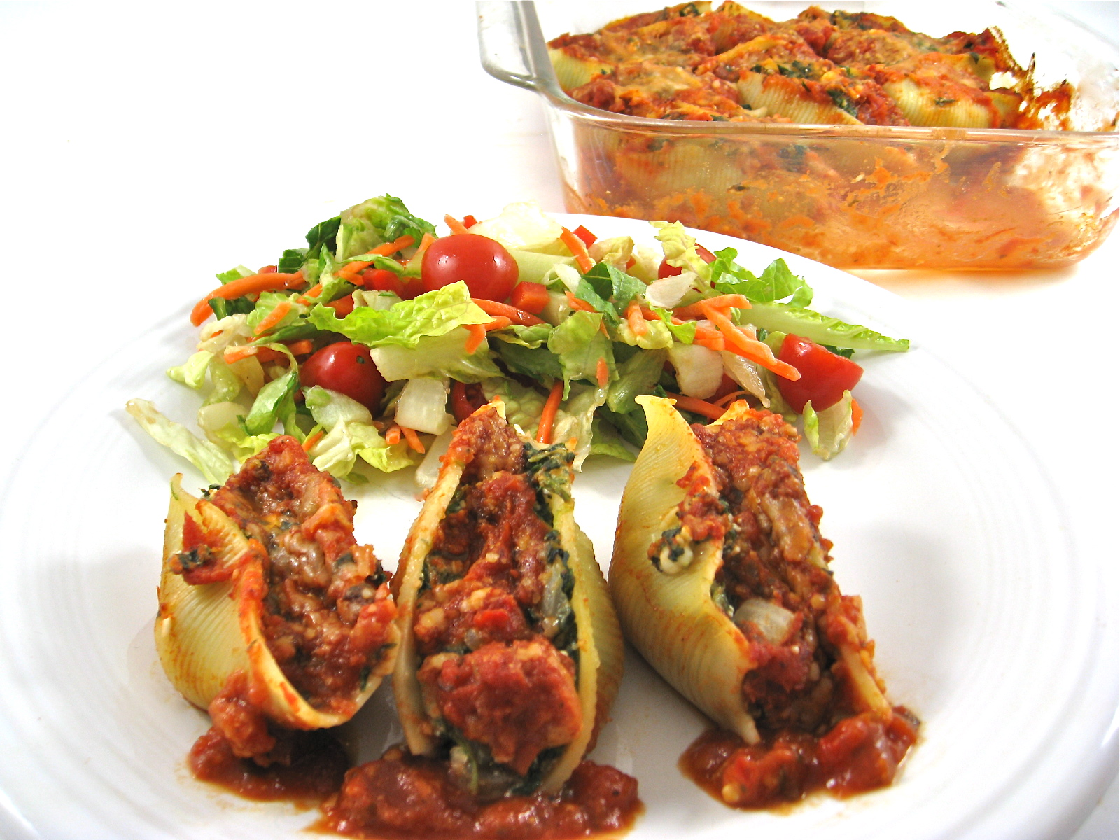 Meatless Stuffed Shells recipe