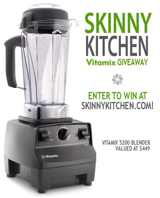 There is a Winner for Skinny Kitchen's Vitamix Giveaway