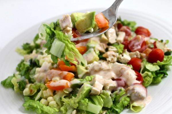 Southwestern chicken salad 1