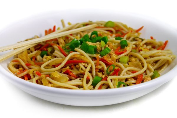 Healthy Egg Roll Noodle Bowl Gluten Free With Weight Watchers Points Skinny Kitchen