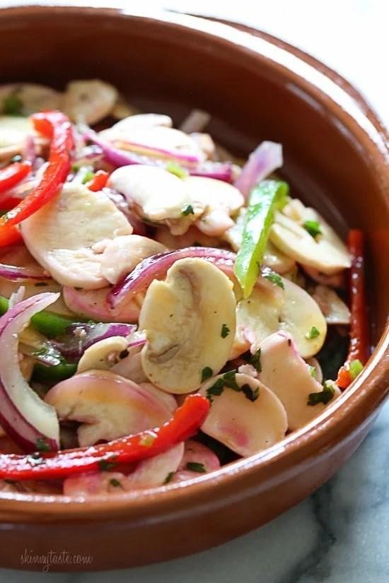 Mushroom Ceviche Skinnytaste