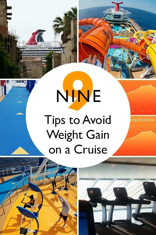 I just returned from a 10-day cruise and set out to avoid the usual weight gain associated with cruising. I actually lost weight on this cruise and am sharing some helpful tips on how I did it...