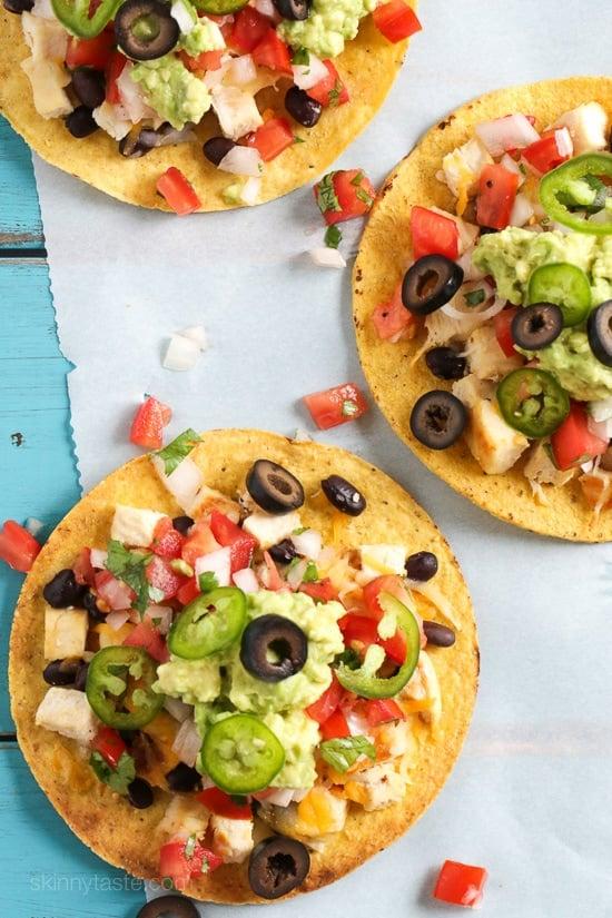 chicken nacho tostadas-5