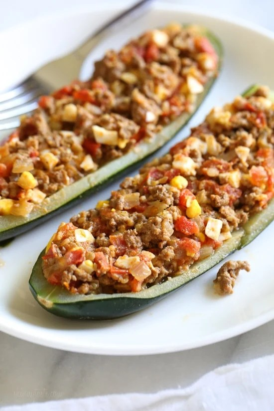 Colombian-Style Zucchini Rellenos
