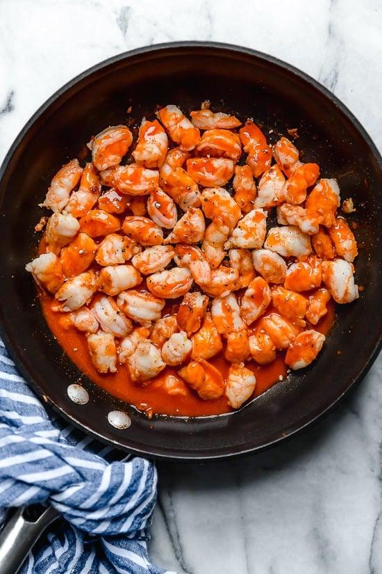 Skillet Buffalo Shrimp Recipe