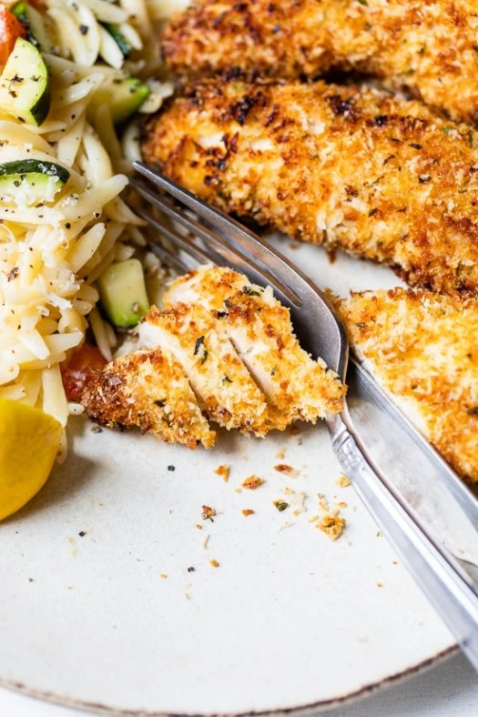 These crispy Air Fryer Chicken Tenders are golden and juicy, so easy to make and perfect for weeknight cooking!
