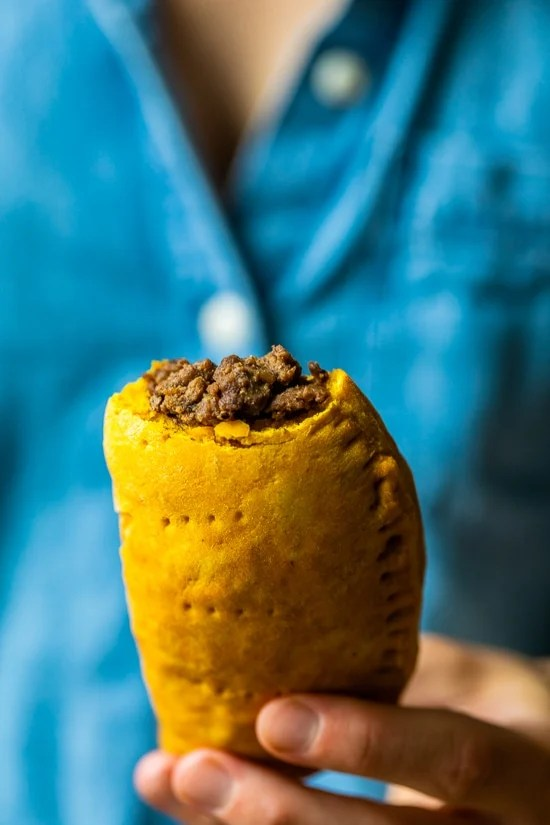 spicy jamaican beef patties  skinnytaste  nature's gateway