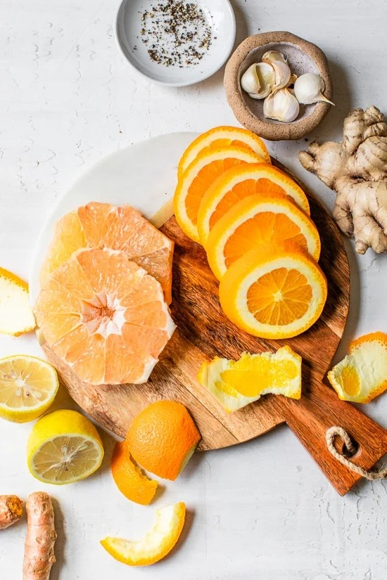 Citrus Immunity Shot ingredients