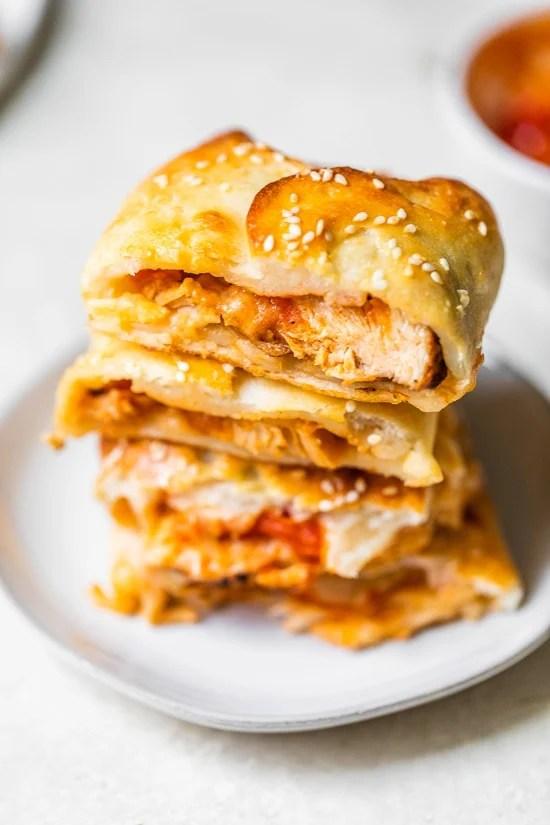 Chicken Parmesan Rolls