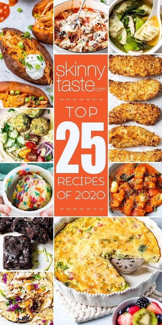 Top 25 Most Popular Skinnytaste Recipes of 2020