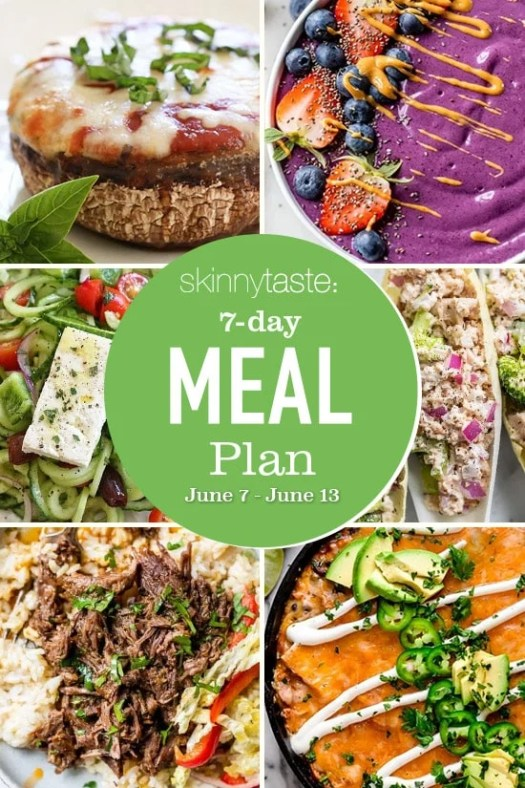 7 Day Healthy Meal Plan (June 7-13) 2