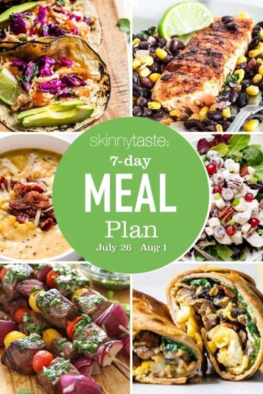 Skinnytaste Meal Plan (July 26-August 1) 3