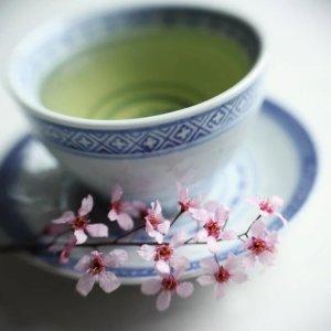 Groene thee om te drinken