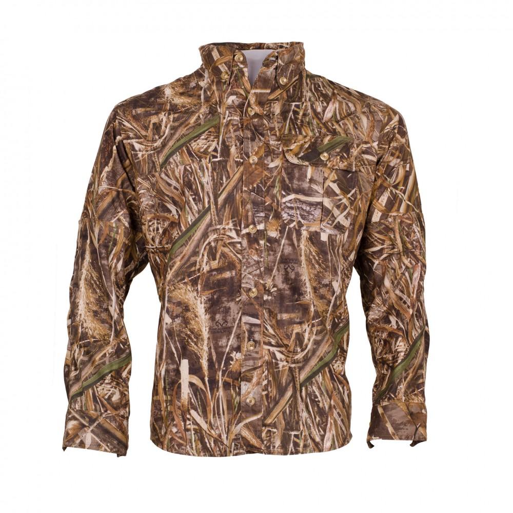 Men's Classic CAMO Long Sleeve Hunting Shirt Front