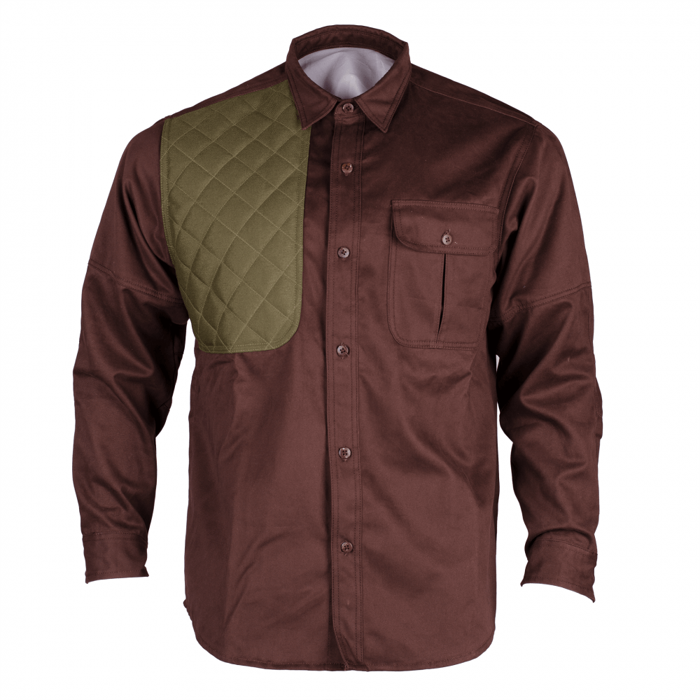 Mens Classic MAX-II Long Sleeve Hunting Shirt Front