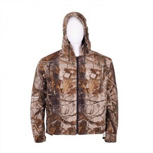 Men's Fleece Hooded Jacket WICKED WIND Front