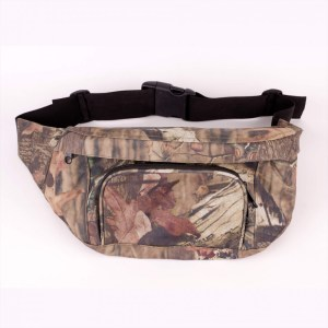 Water Repellent Fanny Pack Camouflage Hunting Gear Waist Belt Bag CORE I Front