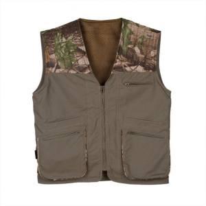 Mens Hunting Vest SHOOTER'S DEN front