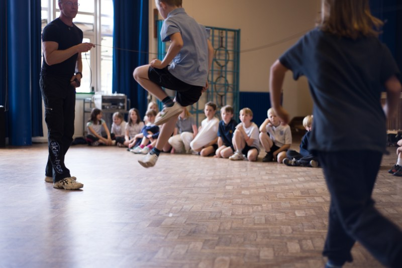 The Benefits of Skipping - Tackling Childhood Obesity
