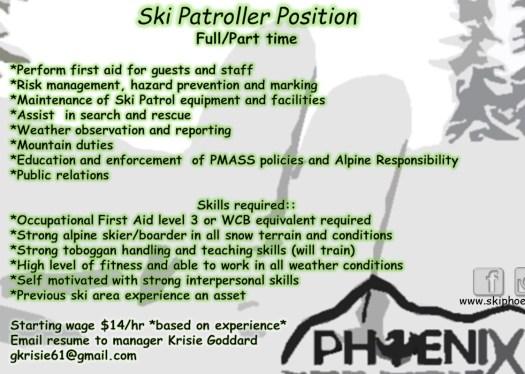 Ski Patrol position