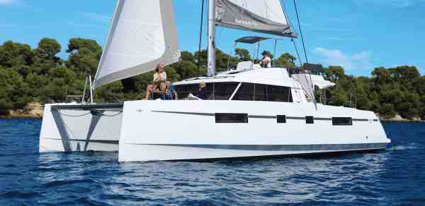 Catamaran charter rental Croatia