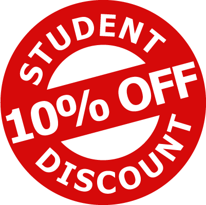 NEW: Student Discount on orders under £5