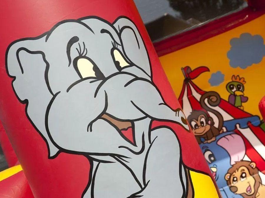 Springkussen Multifun Circus (overdekt)