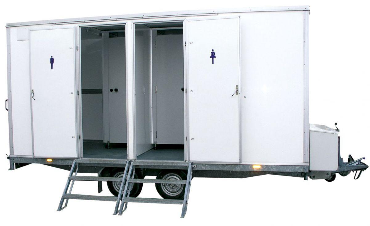 Grote toiletwagen skippy rent toilet verhuur in uw regio