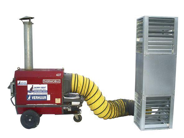 Indirect gestookte heater – 230 V